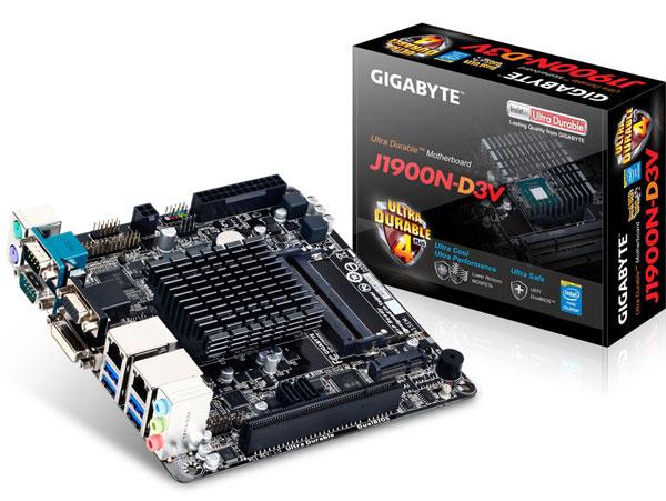 �� ����� Gigabyte J1900N-D3V ���������� �������� ����������� ��������� Intel Celeron J1900