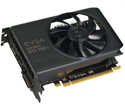 EVGA ����������� ����� ������ ������� 3D-���� GeForce GTX 750 Ti � GTX 750