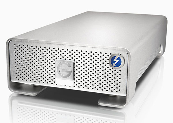 Внешние накопители G-Drive и G-Drive mobile оснащены интерфейсами Thunderbolt и USB 3.0