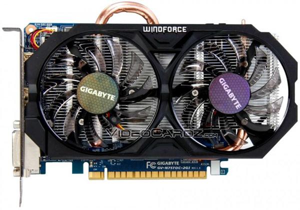 ������ Gigabyte GTX 750 Ti OC (GV-N75TOC-2GI) �������� ���������� WindForce 2X