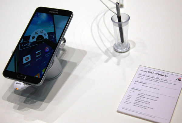Смартфон Samsung Galaxy Note 3 оснащен модемом Qualcomm Gobi 9x35