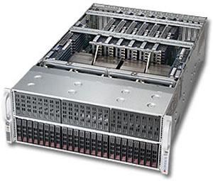 Сервер Supermicro SuperServer 4048B-TRFT предназначен для критически важных приложений