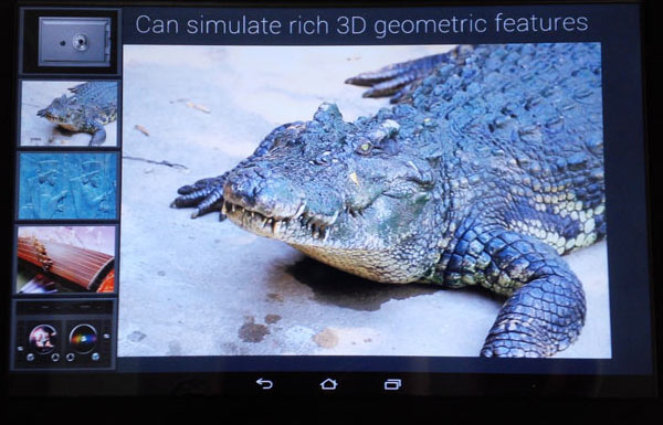 Прототип планшета Fujitsu с тактильной обратной связью был показан на MWC