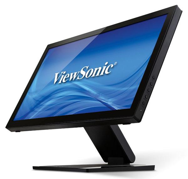 Компания ViewSonic объявила о выпуске сенсорного 22-дюймового монитора TD2240
