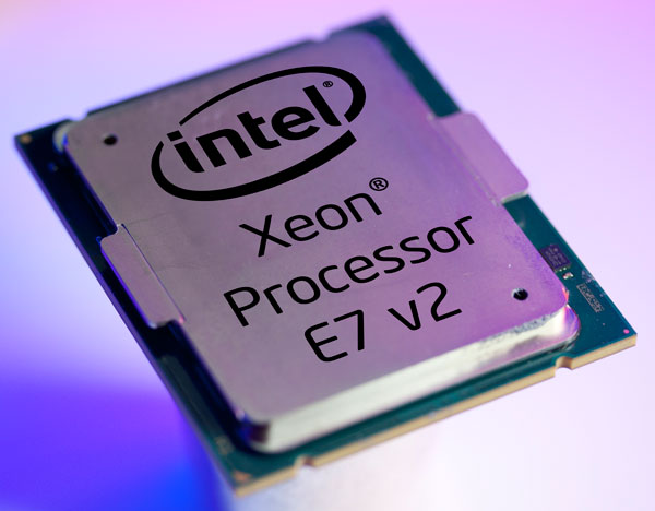Процессоры Intel Xeon E7 v2 предназначены для серверов