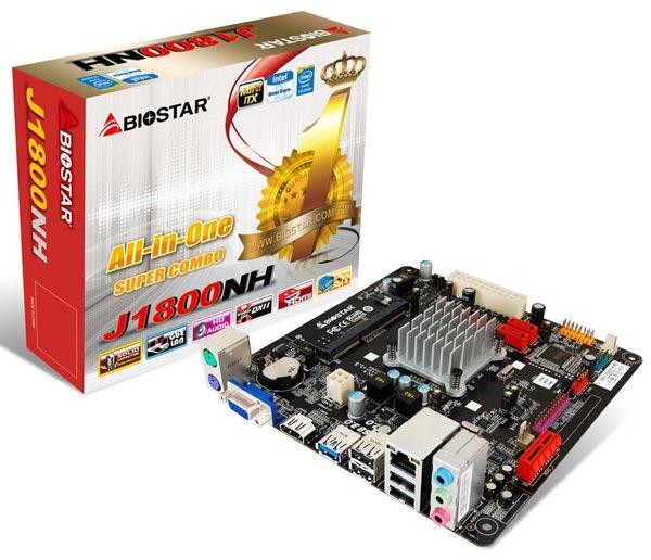 �� ����� Biostar J1800N Ver 6.x ���������� ��������� Intel Celeron J1800