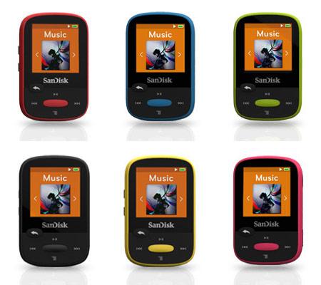 SanDisk Clip Sport MP3 — легкий проигрыватель с большим запасом автономности