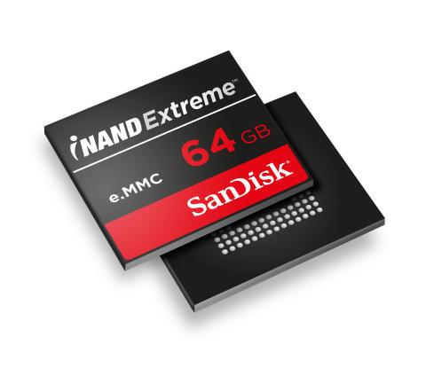 В модулях iNAND Extreme используется флэш-память SanDisk, выпускаемая по технологии 1Y нм