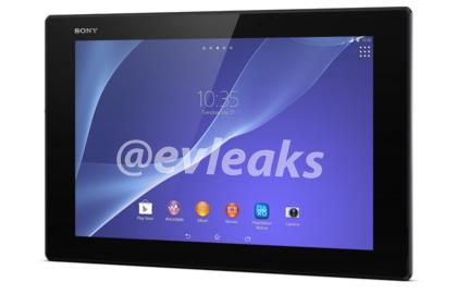 ������� Sony Xperia Tablet Z2 ����� �������� �� ��������������� ������� Qualcomm Snapdragon 800