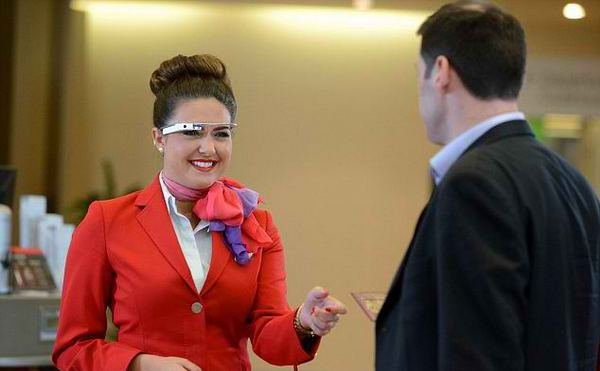 Virgin Atlantic ��������� Google Glass