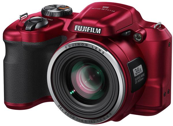 В камере Fujifilm FinePix S8600 используется датчик типа CCD формата 1/2,3 дюйма разрешением 16 Мп