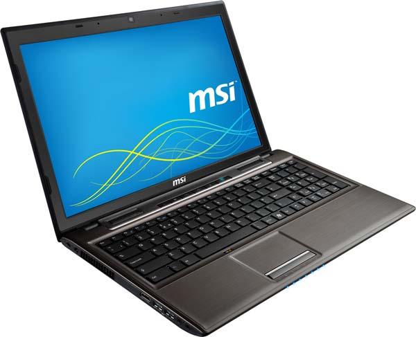 В конфигурацию ноутбука MSI CX61 2PC входит до 16 ГБ оперативной памяти DDR3-1600L