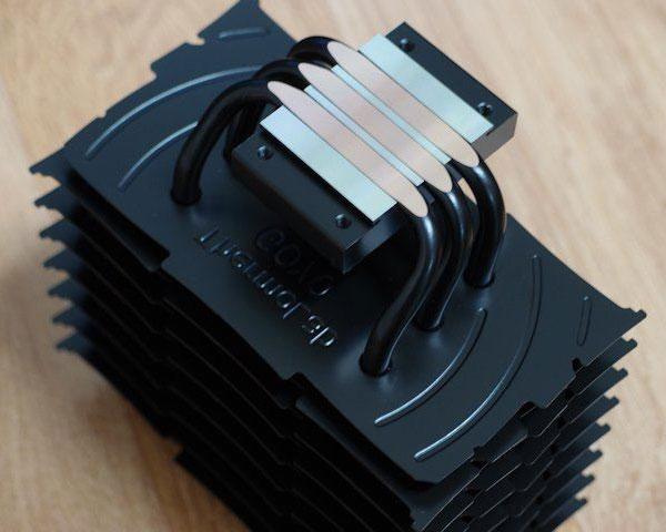 Охладитель ThermoLab Goyo в пассивной конфигурации рассчитан на процессоры с TDP до 60 Вт