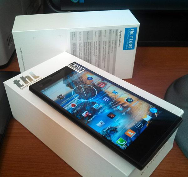 На сайте iXBT.com скоро будет опубликован обзор и тест восьмиядерного смартфона Thl T100S