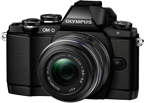 Предусмотрен выпуск черного и серебристого вариантов камеры Olympus OM-D E-M10
