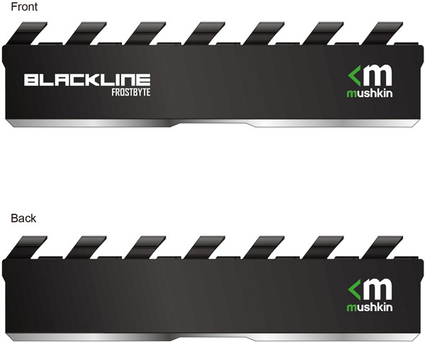 Модули памяти серий Mushkin Redline и Backline получат новые радиаторы Frostbyte II