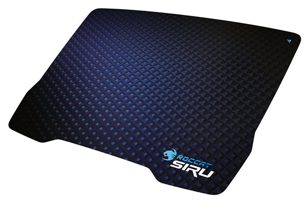 Размеры коврика Roccat Siru — 340 x 250 x 0,45 мм