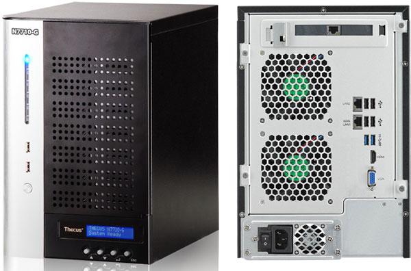 Продажи Thecus N7710-G и N8810U-G начнутся в середине марта по цене $1199 и $1999 соответственно