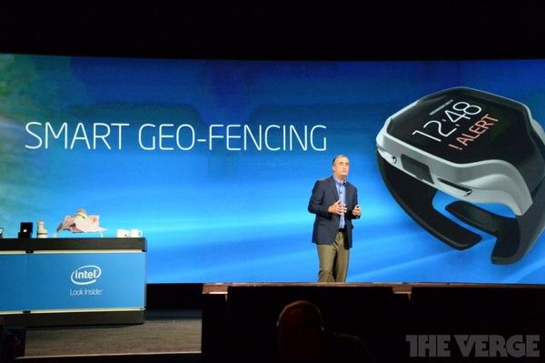 «умные часы» Intel CES 2014