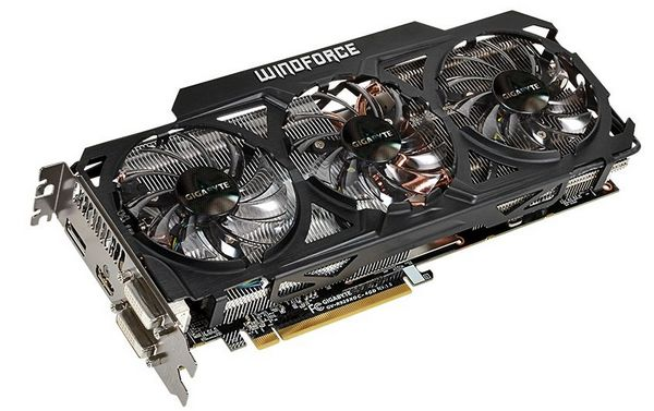 Gigabyte Radeon R9 290(X) WindForce 3X 450W