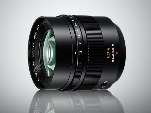 Объектив Leica DG Nocticron 42.5mm / F1.2 ASPH. / Power O.I.S. (H-NS043) предназначен для камер Lumix G системы Micro Four Thirds