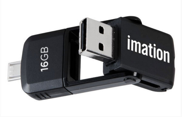 Насколько практичным и долговечным окажется решение, примененное в Imation 2-in-1 Micro USB Flash Drive?