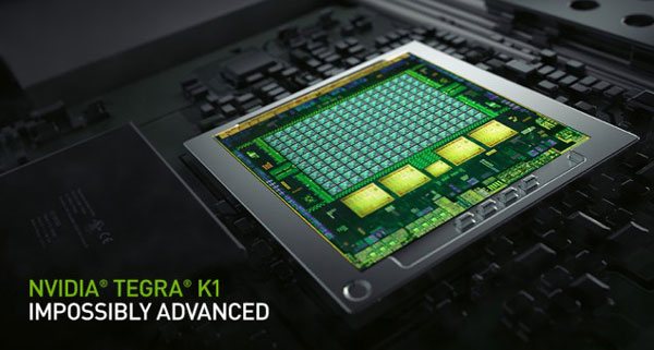 ����������� ����������� Tegra K1 ����������� ����������� ����������� �� ������ �������� �������� ��������� Xbox 360 � PlayStation 3