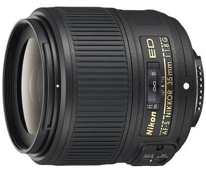 Объектив AF-S Nikkor 35mm f/1.8G