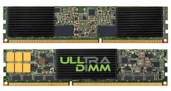 Компания IBM будет поставлять SSD SanDisk ULLtraDIMM под собственной маркой eXFlash DIMM SSD