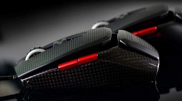 Мышь EVGA TORQ X10 Carbon оснащена настраиваемой подсветкой