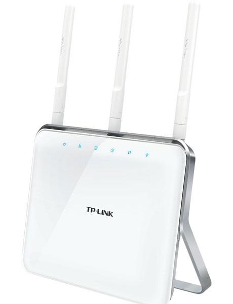 Пропускная способность маршрутизатора TP-LINK AC1900 равна 1900 Мбит/с