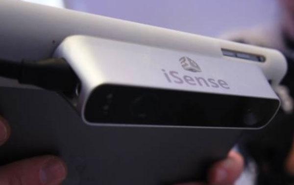 3D-сканер iSense для iPad создает объемную модель сканируемого объекта
