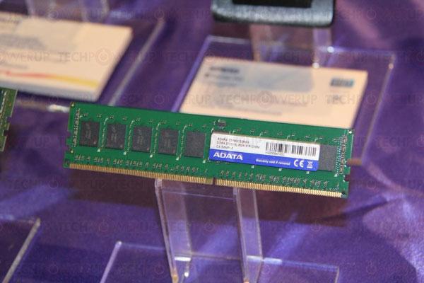 Модули памяти DDR4, которые компания Adata привезла на CES, предназначены для серверов