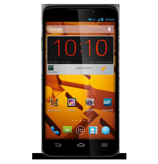 В США стартовали продажи планшетофона ZTE Boost Max, ранее известного как ZTE Iconic Phablet
