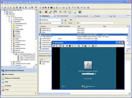 Скриншот окна IDEAL Administration