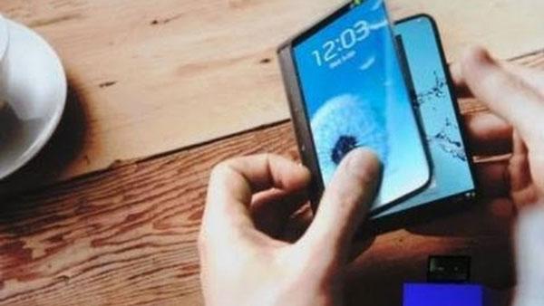 Samsung планирует выпустить смартфон со складным экраном в 2015 году