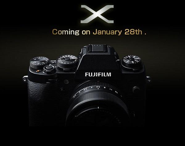 Компания Fujifilm планирует выпустить новую камеру 28 января