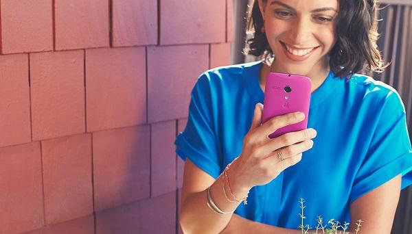 Смартфон Motorola Moto G с поддержкой двух карт SIM