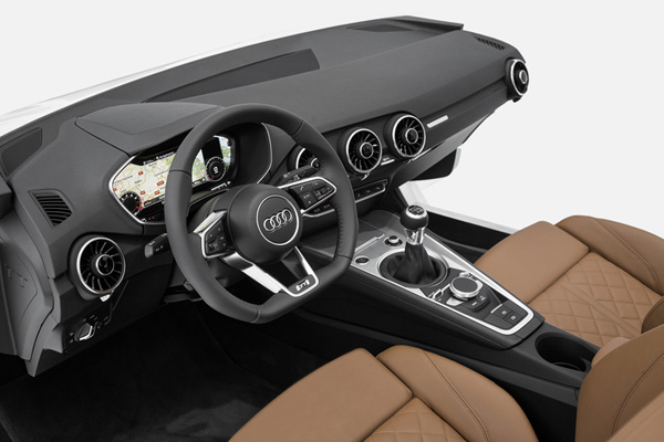 Интерьер Audi TT