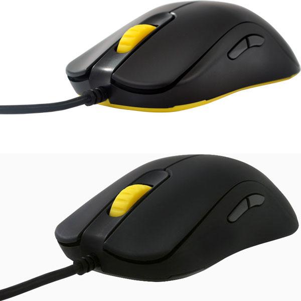 Обновленная мышь Zowie FK получила быстрое колесико прокрутки, новый датчик и полностью черный корпус