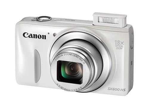 Появились изображения камер Canon PowerShot N100 и PowerShot SX600HS