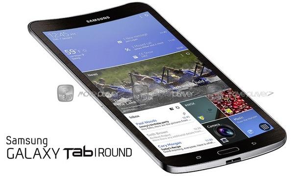 � ���� ��������� ����������� ���������� Samsung Galaxy Tab Round