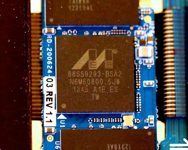 Твердотельный накопитель типоразмера M.2 на контроллере Marvell Altaplus 88SS9293 замечен на CES 2014