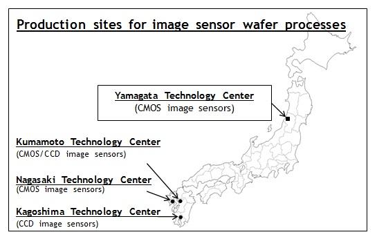 Фабрика Sony в Цуруоке будет занята выпуском датчиков типа CMOS