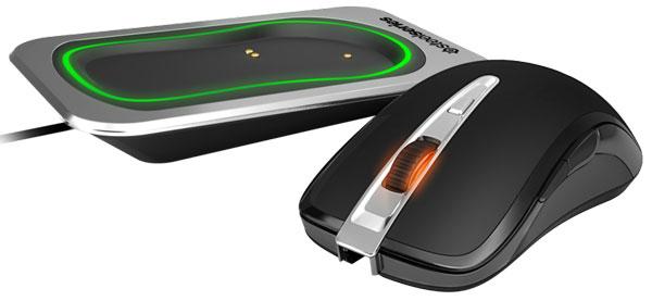Мышь SteelSeries Sensei Wireless имеет симметричную форму