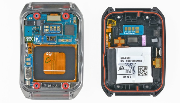Samsung Gear Live LG G Watch iFixit