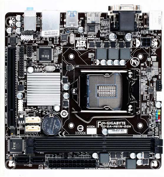 В оснащение платы Gigabyte GA-H81N-D2H входит восьмиканальный звуковой кодек Realtek ALC887