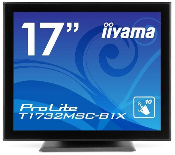 Разрешение 17-дюймовых мониторов Iiyama ProLite T1731SR-2, T1731SAW-2 и T1732MSC-B1X равно 1280 х 1024 пикселя