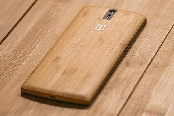 Любителям натуральных материалов понравится новая внешность OnePlus One