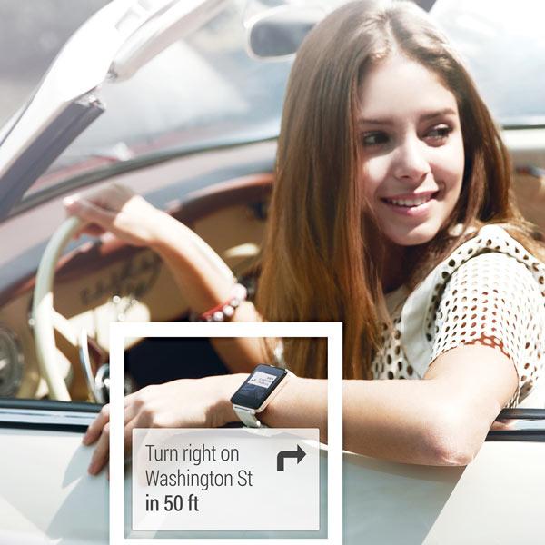 Часы LG G Watch — одно из первых носимых устройств на платформе Android Wear